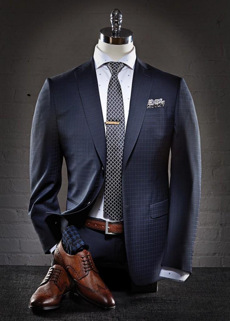 подобрат галстук к костюму