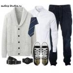 мужчине с джинсами