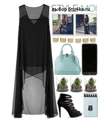 носить прозрачное платье