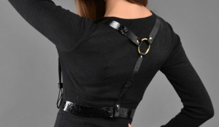 Женская портупея: как ее сделать и с чем носить?