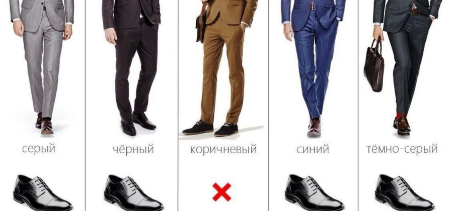 Туфли под костюм: уроки стиля для мужчин
