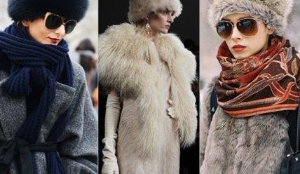 С чем носить шапку-боярку: стильные образы