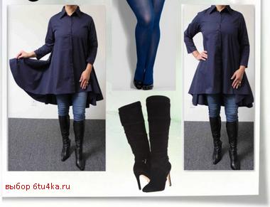 Выбираем фасон платья, скрывающий бока