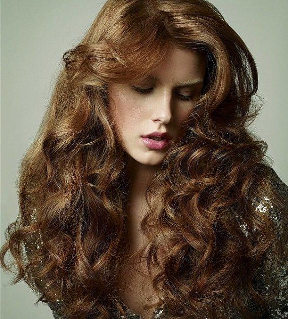 красивые густые волосы