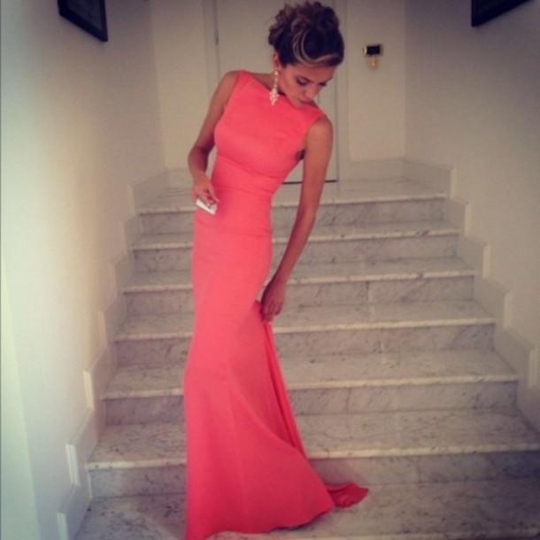 Фото красивых и длинных платьев