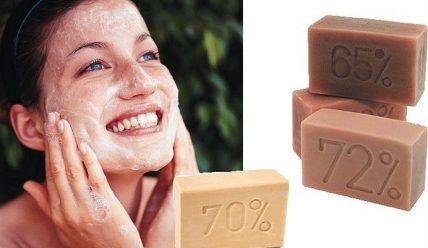 Как использовать хозяйственное мыло против прыщей?