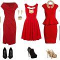 аксессуары к красным платьям