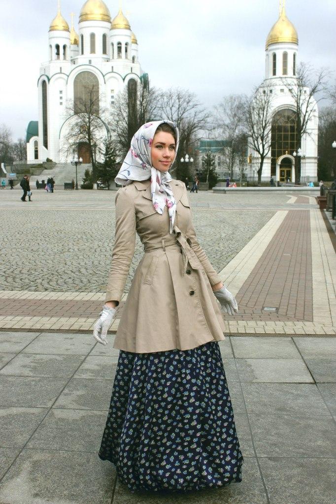 Одежда для девушки в церковь