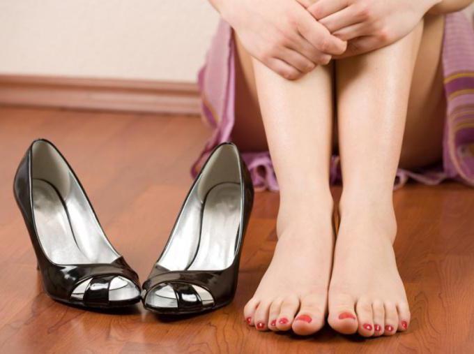 ноги и туфли