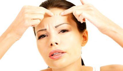 Как вылечить простудные прыщи на лице?