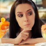 девушка фруктовые десерты