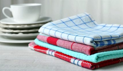Как отбелить кухонные полотенца содой — 25 рецептов