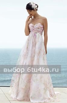 Свадебное платье модели Ампир