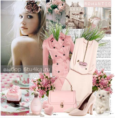 Как носить платье цвета чайной розы