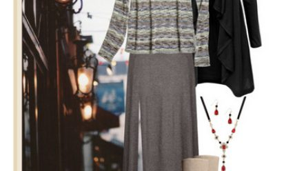 Как выбрать длинную зимнюю юбку?