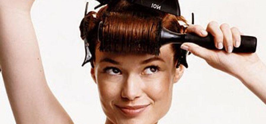 Как не испортить волосы феном?