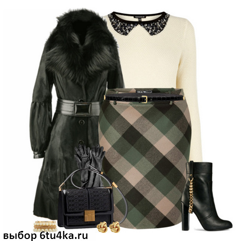 юбка на зиму