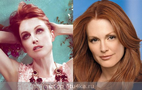 Джулианна Мур: макияж