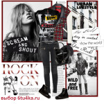 как одеться на рок-концерт