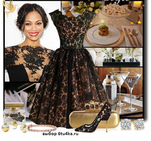 Фото в каких платьях ходят в ресторан