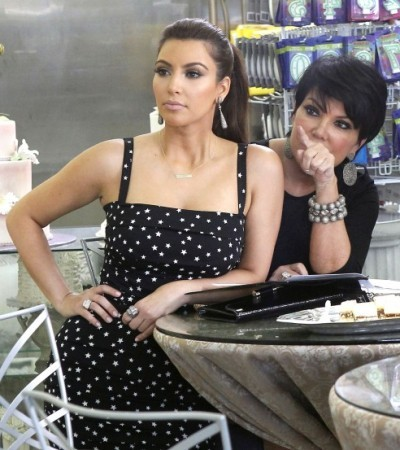 Ким Кардашьян на свадьбе: в ожидании свадебного торта