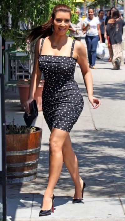 Ким Кардашьян: фигура во всей красе!