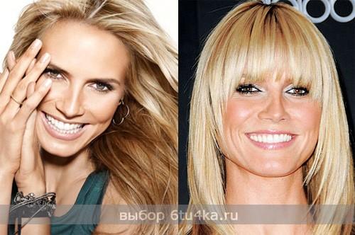 дневной и вечерний макияж  Хайди Клум