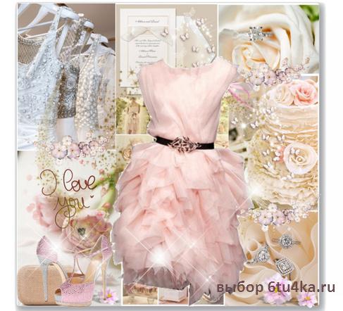 коктейльное платье на свадьбу