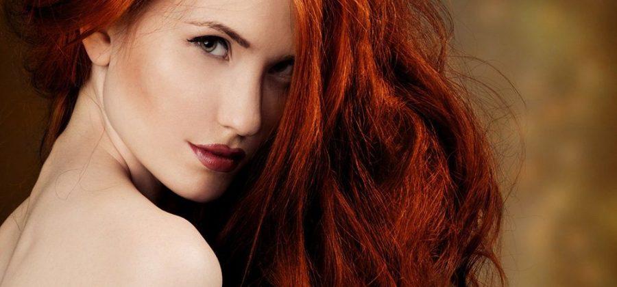 Кому идет рыжий цвет волос?