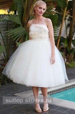 Короткие свадебные платья: модели, как выбрать, что учитывать