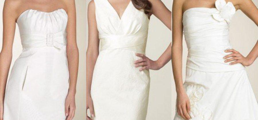 Как выбирать короткие свадебные платья