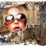 Леопардовое платье: фото