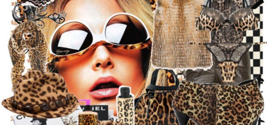 С чем носить леопардовое платье: фото и советы
