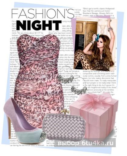 коктейльное леопардовое платье фото