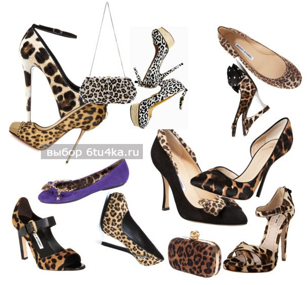 Леопардовые туфли фото