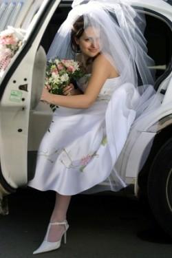 выбрать лимузин на свадьбу