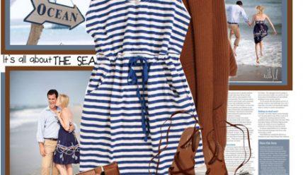 Морской принт: как и с чем носить?