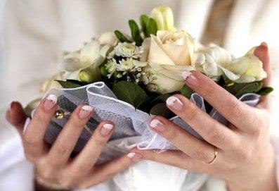 Ногти на свадьбу