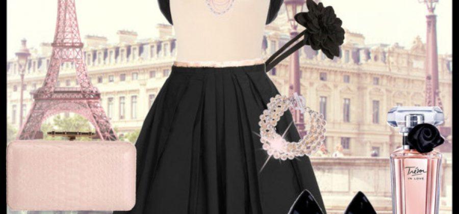 С чем носить черную юбку?