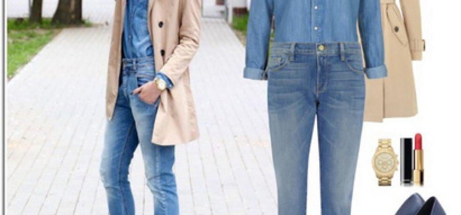 С чем носить джинсовую рубашку: разнообразие образов