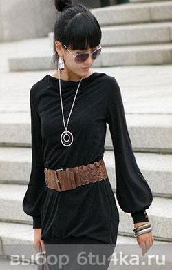 Маленькое черное платье - универсальная одежда на праздник