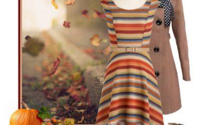 Красивые осенние платья на каждый день