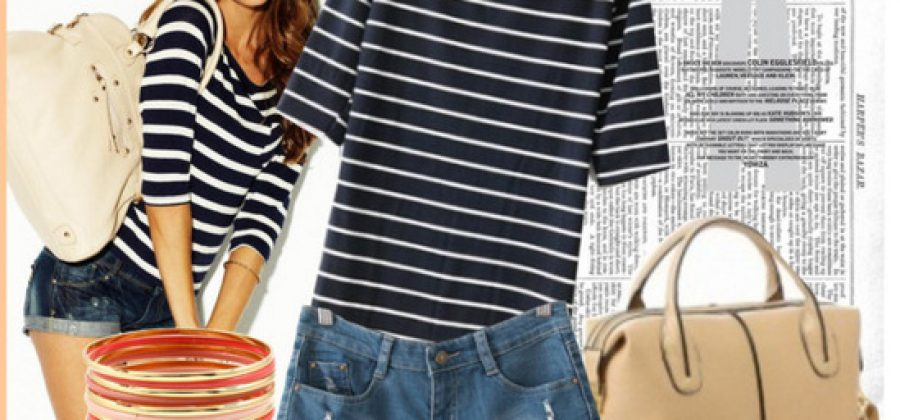 С чем носить джинсовые шорты?