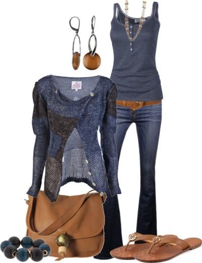 Сандали + джинсы