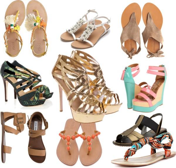 как выбрать сандали