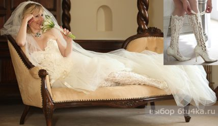 Свадебная обувь для невесты: что купить?