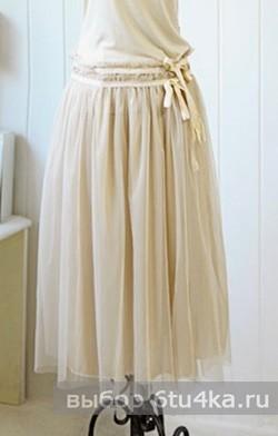 Модели длинных юбок: юбка-пачка