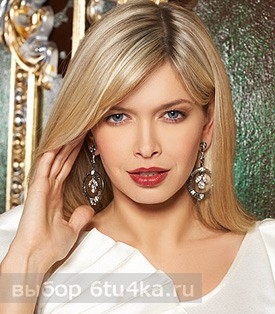 Вера Брежнева: яркий макияж только для работы
