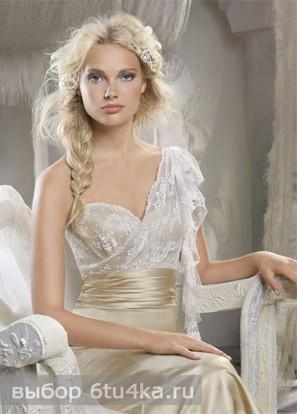 Весеннее свадебное платье в стиле Ампир