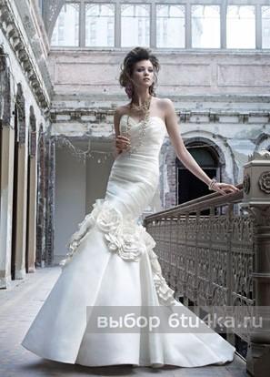 Весеннее свадебное платье фасон Русалка